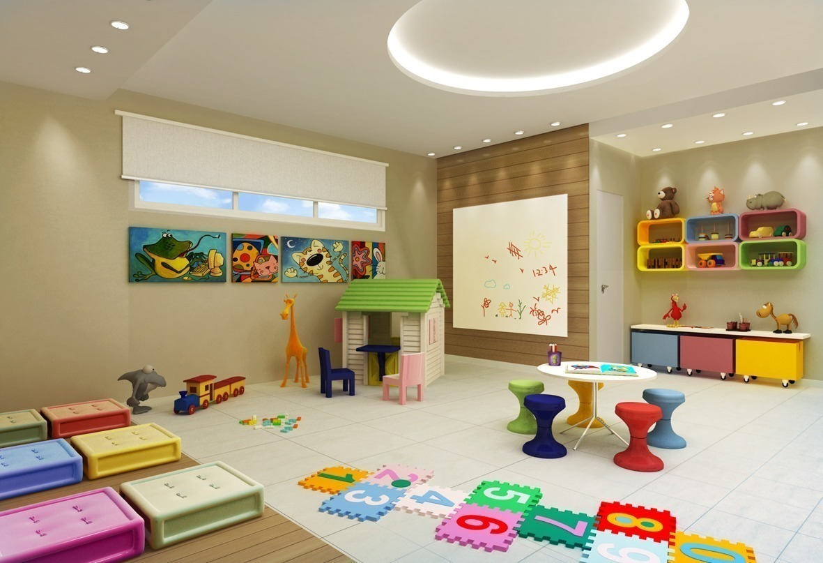 Indoor Games Room Design Plan