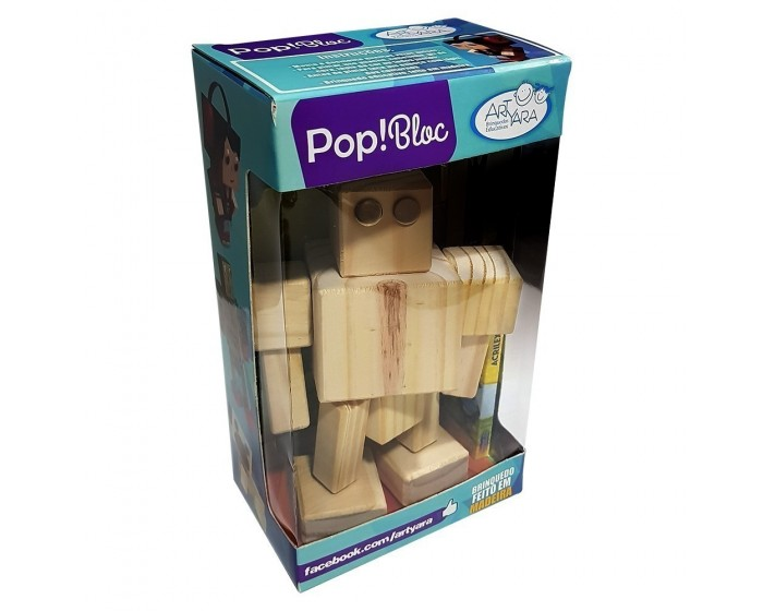 Pop Bloc Robô Zé