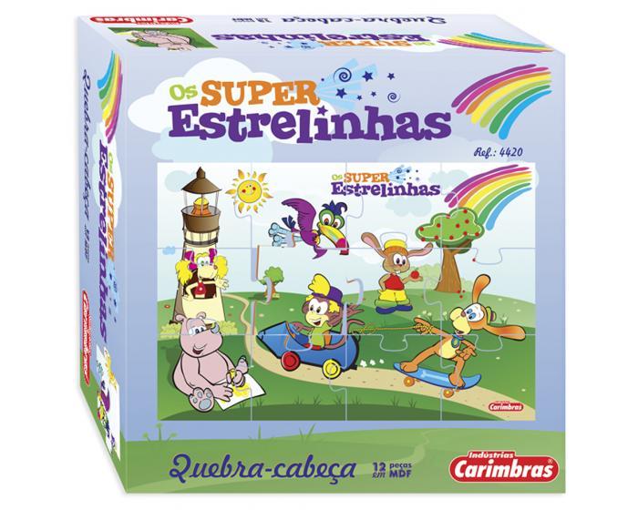 Quebra-Cabeça Super Estrelinhas