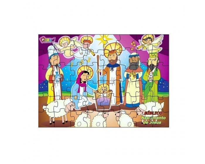 Quebra-Cabeça Nascimento de Jesus