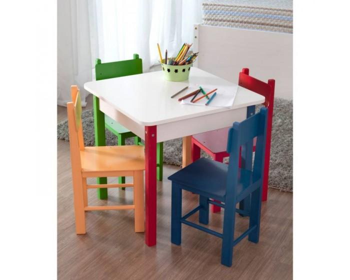 Mesa infantil com 4 cadeiras for Mesa infantil