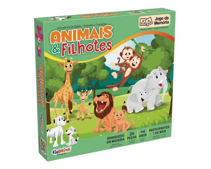 Jogo da Memória Animais e Filhotes