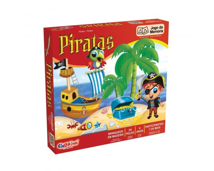 Jogo da Memória Piratas