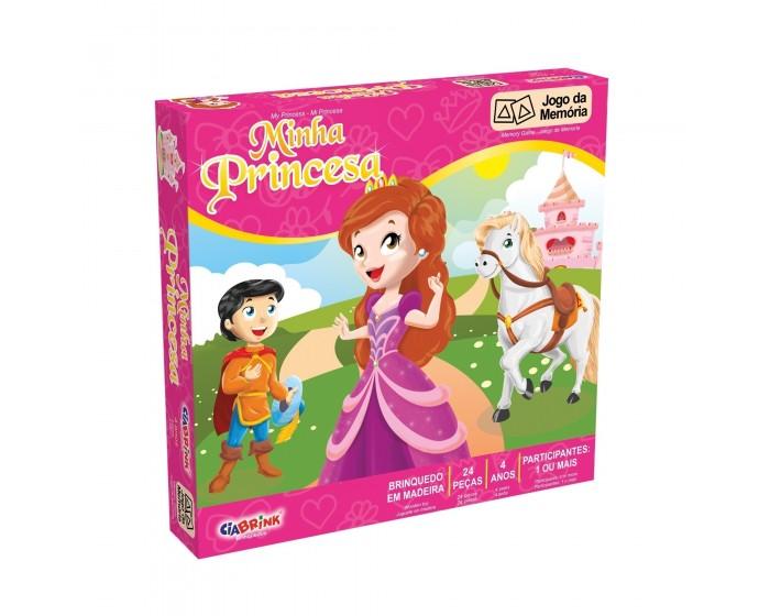 Jogo da Memória Minha Princesa