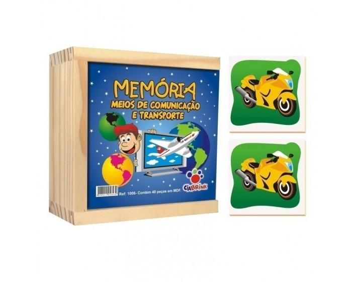 Jogo da Memória Meios de Comunicação e Transporte