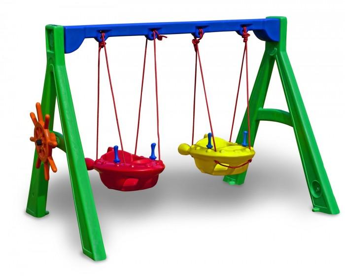 Playground Balanço Jet Duplo com Suporte e Timão