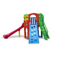 Playground Royal Play com 1 Escorregador Curvo e 1 Escada