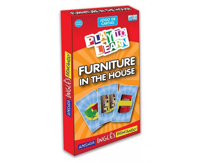 Jogo de Cartas Furniture in the House