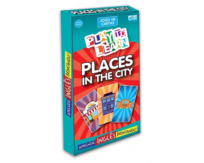 Jogo de Cartas Places in the City