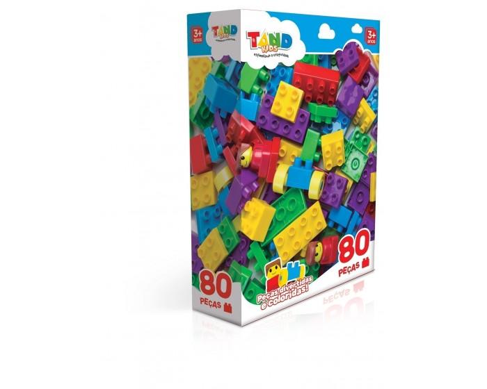 Blocos de Montar Tand Kids 80 Peças