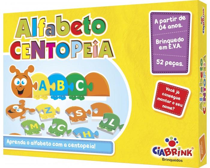 Alfabeto Centopéia EVA em Cx Cartonada