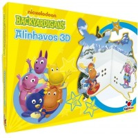 Alinhavos 3D Backyardigans