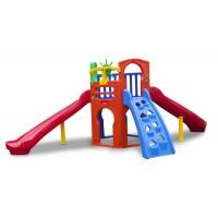 Playground Royal Play com 2 Escorregadores Curvos