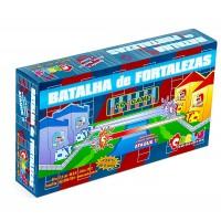 Jogo Batalha de Fortalezas com 234 Peças Cx Cartonada