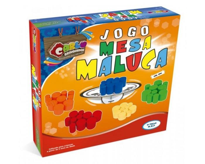 Jogo Mesa Maluca em Caixa Cartonada