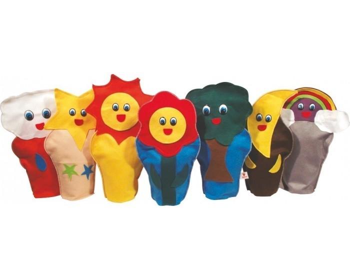 Fantoches Natureza com 7 Personagens