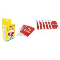 Jogo das Letras de Baralho com 99 Cartas em Cx Cartonada