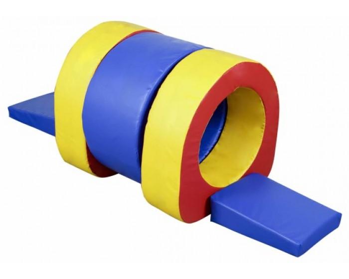 Playground Espumado Master Túnel com 5 Peças